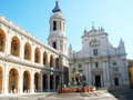Loreto shrine - Italy Royalty Free Stock Image