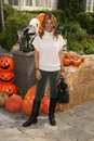 Lori loughlin at the pottery barn kids halloween carnival benfiting operation smile private location los angeles ca Royalty Free Stock Images