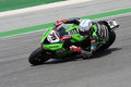 Loris Baz - Kawasaki ZX-10R Racing Team Royalty Free Stock Images