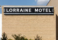 Lorraine motel memphis tennessee usa october the in downtown memphis the was the site of the assassination of Stock Image