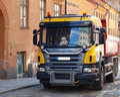 Picture : Lorry  cargo crane