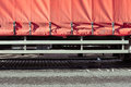 Lorry cover Royalty Free Stock Photo