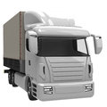 Lorry d rendered image of a Royalty Free Stock Images