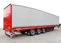 Lorry trailer Royalty Free Stock Photo