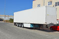 A Lorry Trailer Royalty Free Stock Photo