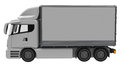 Lorry Royalty Free Stock Photo