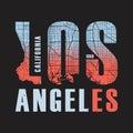Los Angeles California Tee Pri...