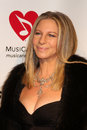 Los angeles feb barbra streisand arrives muiscares gala honoring barbra streisand convention center february los angeles ca Stock Photos