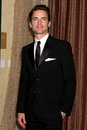 Los angeles feb matt bomer arrives th annual costume designers guild awards beverly hilton hotel february beverly hills ca Stock Photography