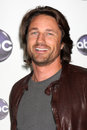 Los angeles jan martin henderson arrives disney abc television group s tca winter press tour party langham huntington hotel Stock Photos