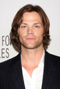 Los angeles mar jared padalecki arriving supernatural paleyfest saban theatre march beverly hills ca Stock Photography