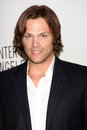 Los angeles mar jared padalecki arriving supernatural paleyfest saban theatre march beverly hills ca Stock Photos