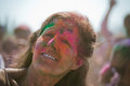 Los angeles march people celebrate holi festival colors march los angeles ca Stock Photos