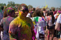 Los angeles march people celebrate holi festival colors march los angeles ca Royalty Free Stock Photography