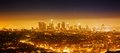 Los Angeles panorama Stock Photography