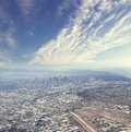Los angeles panorama at daytime Stock Photos