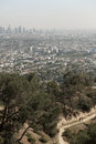 Los Angeles skyline, California Royalty Free Stock Images