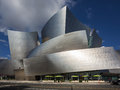 Los Angeles, USA - March 27, 2014: Walt Disney Concert Hall in downtown Los Angeles Royalty Free Stock Photo