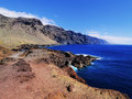Los gigantes view punta teno tenerife canary islands spain Stock Photography
