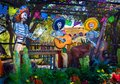 Los Muertos Day of the Dead Musicians Royalty Free Stock Photo