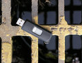 Lost Flash Memory Stick Royalty Free Stock Photo