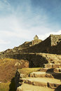 Lost incas city Machu-Picchu Stock Photography