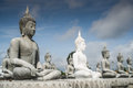 Lot of Buddha Statue Stock Photos