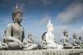 Lot of Buddha Statue Stock Photos