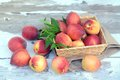 Lot of fresh peach Royalty Free Stock Photo
