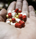 Lot of medical pills