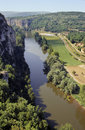Lot river valley Stock Photos