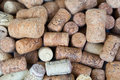 Lot of wine corks background Royalty Free Stock Photo