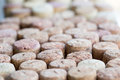A lot of wine corks background Royalty Free Stock Photo
