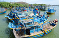 Fishing boats in Vietnam Royalty Free Stock Photo
