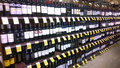 Lots of alcohol on tom thumb store shelves usa Stock Photos