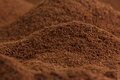 Lots of coffee looking like valleys and mountains Royalty Free Stock Photo