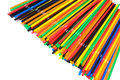Lots of drinking straws Royalty Free Stock Photo
