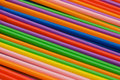 Lots of drinking straws Stock Photos