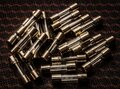 Lots of electrical fuses. Royalty Free Stock Photo
