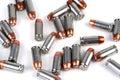 Lots Gewehrkugeln Lizenzfreie Stockbilder