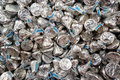 Lots of Hershey Chocolate Kisses Royalty Free Stock Photo