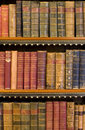 Lots of old books in a library Stock Photography