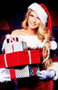 Lots of presents Royalty Free Stock Photo