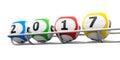 Lottery balls 2017 frame #2
