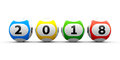 Lottery balls 2018