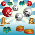 Lottery theme Stock Photography