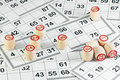 Lotto game Royalty Free Stock Photo