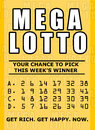 Lotto ticket Royalty Free Stock Photo