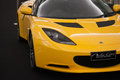 Lotus Elise super car Royalty Free Stock Photo