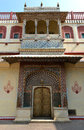 Lotus Gate in City Palace, Jaipur Stock Photos